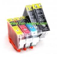 Set de 5 cartouches compatibles PGI5XL / CLI8XL BK, C, M, Y