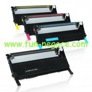 Set de 4 toners compatibles CLP 310 - CLP 315 BK, C, M, Y