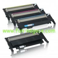 Set de 4 toners compatibles CLP 320 - CLP 325 BK, C, M, Y