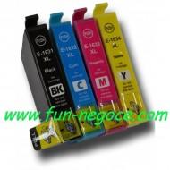 Set de 4 cartouches compatibles T1631, T1632, T1633, T1634
