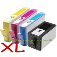 Set de 4 cartouches compatibles HP920, BK, C, M, Y
