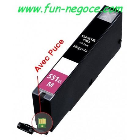 Cartouche compatible CLI551XL M