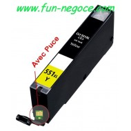 Cartouche compatible CLI551XL Y