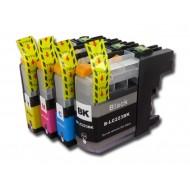 Set de 4 cartouches compatibles LC223XL BK, C, M, Y