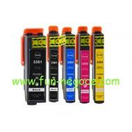 Set de 5 cartouches compatibles T3351, T3361, T3362, T3363, T3364